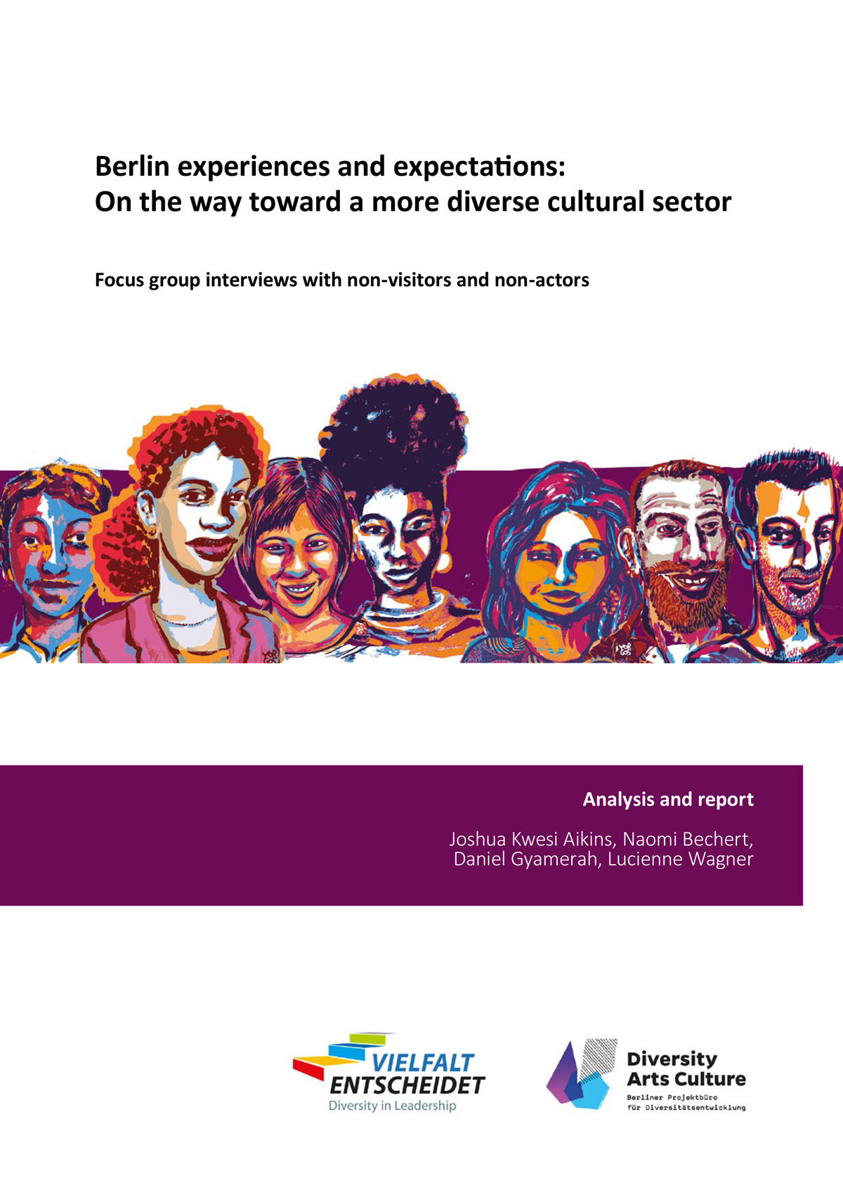Berlin experiences and expectations: On the way toward a more diverse cultural sector