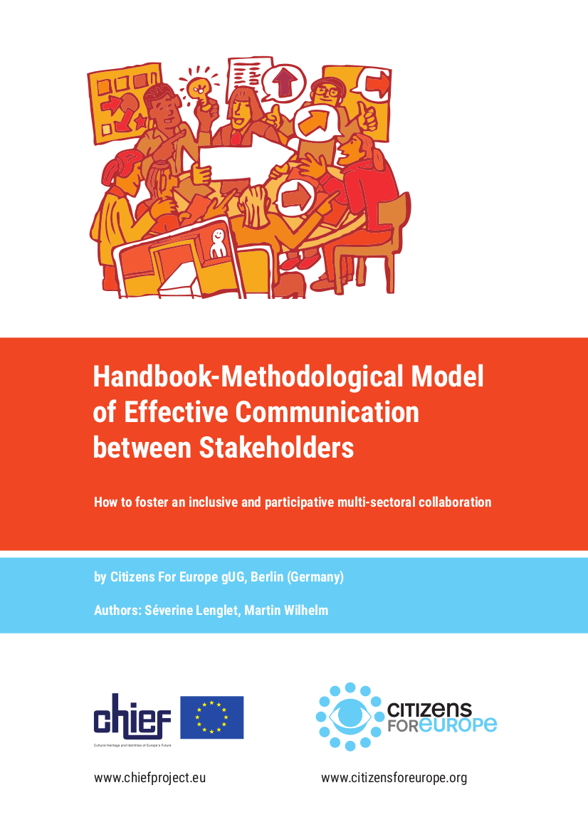 Handbook - Methods How to foster an inclusive and participative multi-sectoral collaboration