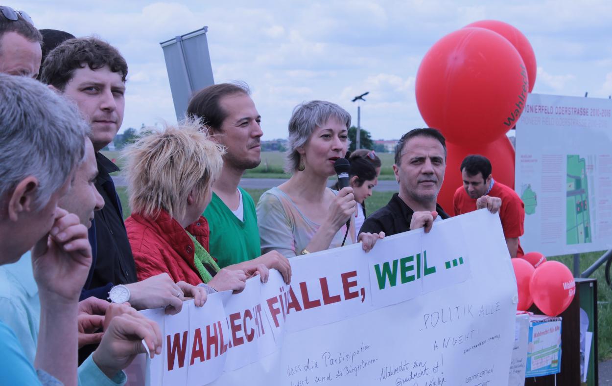 Wahlrecht für Alle Tempelhofer Feld