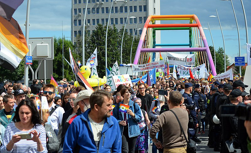 Protest in Poland