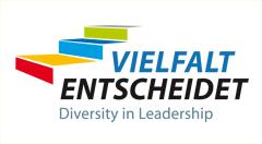 Logo Vielfalt Entscheidet - Diversity in Leadership