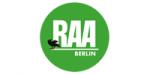Logo RAA Berlin (Regionale Arbeitsstellen für Bildung, Integration und Demokratie e.V.)